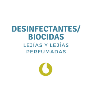 Desinfectantes/Biocidas (Lejías y Lejías Perfumadas)
