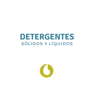 Detergentes sólidos y líquidos